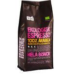 Espresso 100% Arabica Hela Bönor Garant Eko 500g