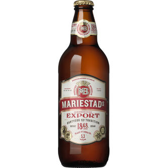 Mariestads Export 5.3% Starköl 50cl Spendrups