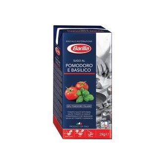 Tomatsås Basilika 2kg Barilla