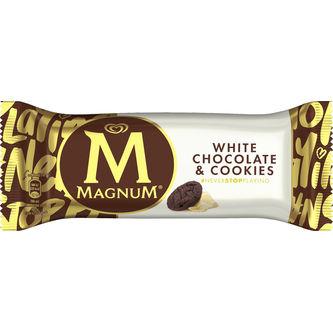 White Chocolate & Cookies Glass 90ml Magnum
