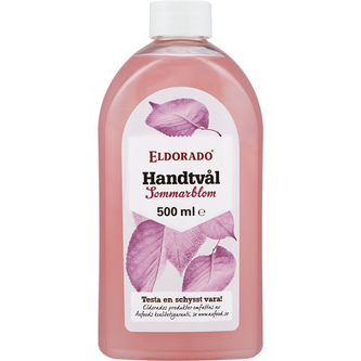 Handtvål Pink Flower Refill 500ml Eldorado