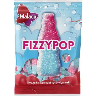 Fizzypop Påse 80g Malaco