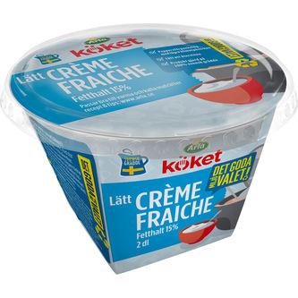 Crème Fraîche Lätt 15% 2dl Arla Köket