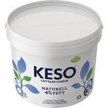 Keso Naturell 4% Arla 3kg