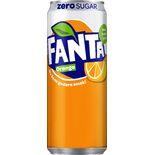 Fanta Zero Orange Burk Fanta Zero 33cl