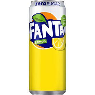 Fanta Zero Lemon Burk 33cl Fanta Zero