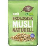 Müsli Naturell Ekologisk Garant Eko 750g