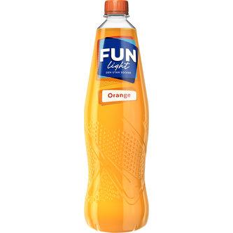 Orange Lightdryck 1l/10l Fun Light