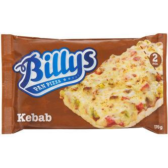 Pan Pizza Kebab Fryst 170g Billys