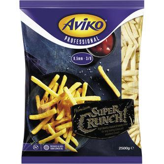 Super Crunch 9.5mm Frysta 2.5kg Aviko