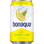 Citron/lime Kolsyrat Vatten Burk Bonaqua Silver 33clburk