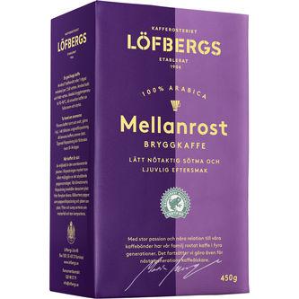 Mellanrost Original Bryggkaffe 450g Löfbergs