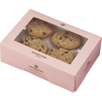 Cookie Chocolate 16-pack 55g/st Delicato