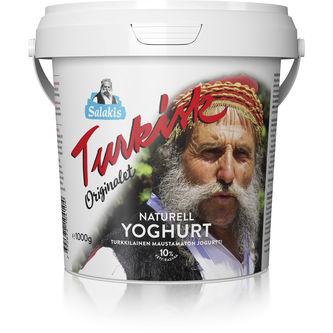 Turkisk Yoghurt Naturell 10% 1kg Lindahls
