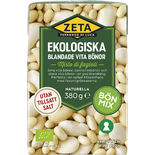 Vita Bönor Blandade Ekologiska Zeta 380/230g