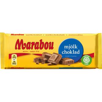 Mjölkchoklad Chokladkaka 100g Marabou