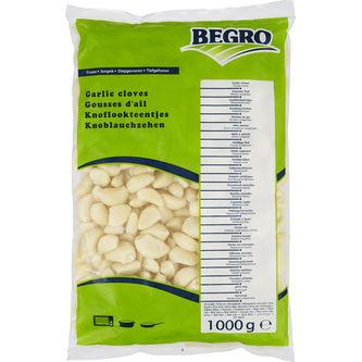 Vitlöksklyftor Frysta 1kg Begro