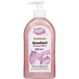 Handtvål Pink Flower Pump 500ml Eldorado