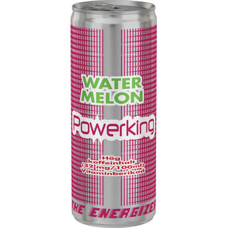 Water Melon Energidryck Burk 25cl Powerking