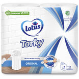 Torky Orginal Hushållspapper Lotus 2 st
