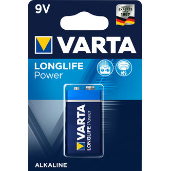 Longlife Power 9v Batteri 1p Varta