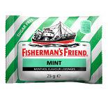 Mint Sugar Free Halstabletter Fisherman's 25g