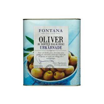 Gröna Oliver Giants Kärnfria 7.65/4kg Fontana