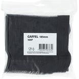 Gaffel Svart  100p