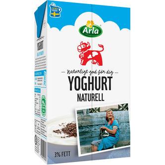 Yoghurt Naturell 1l Arla Ko