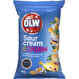 Sourcream Onion Chips Olw 40g