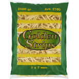 Strips Frysta Golden 2.5kg