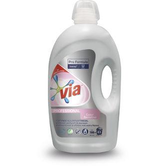 Professional Colour Sensitive Flytande Tvättmedel 4,32l Via