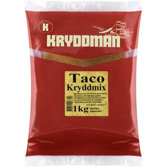 Taco Kryddmix 1kg Kryddman