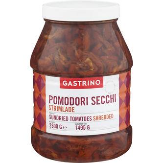 Pomodori Secchi Strimlade Soltorkade Tomater 2,3/1,49 Gastrino