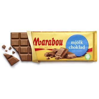 Mjölkchoklad Chokladkaka 200g Marabou