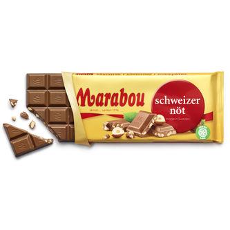 Schweizernöt Chokladkaka 200g Marabou