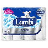 Toalettpapper Dekor Lambi 6st