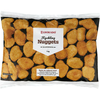 Nuggets Kyckling Frysta 1kg Eldorado