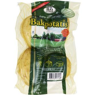 Bakpotatis 4-pack 1kg Ida