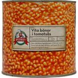 Vita Bönor i Tomatsås Pedros 2,65kg