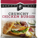 Chicken Crispy Burger Fryst Happy Chef 1,5kg