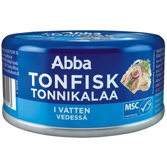 Tonfisk i Vatten Msc 200/150g Abba