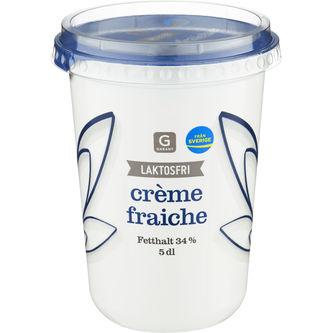 Crème Fraîche Laktosfri 34% 5dl Garant