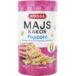 Majskakor Popcorn Friggs 125g
