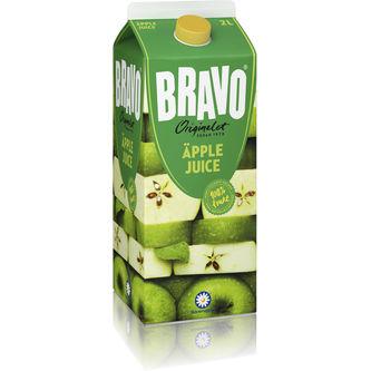Äpple Juice 2l Bravo