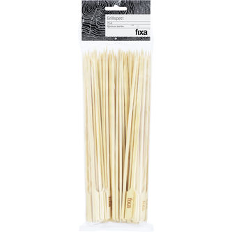 Grillpinnar Bambu 75p Fixa