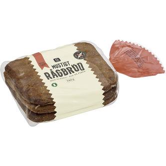 Rågbröd Mustigt 340g Garant