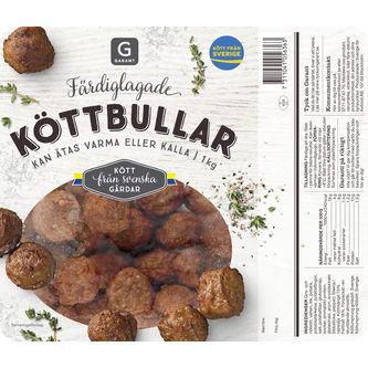 Köttbullar Sverige 1kg Garant