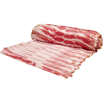 Bacon Rullpackat Skivad ca: 1kg Scan