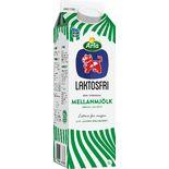 Mellanmjölk Laktosfri 1,5% Arla Ko 1l